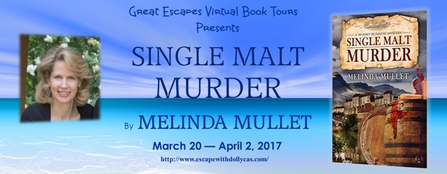 Single Malt Murder tour banner