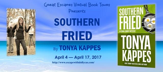 Southern Fried by Tonya Kappes - Meet Myrna Savage + #Giveaway