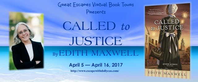 Called to Justice by Edith Maxwell - Guest Post