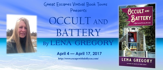 Occult and Battery by Lena Gregory - Guest Post + Giveaway