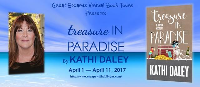 Treasure in Paradise tour banner