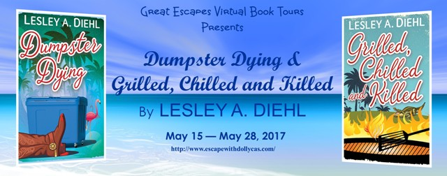 Dumpster Dying by Lesley A. Diehl - Guest Post + Giveaway