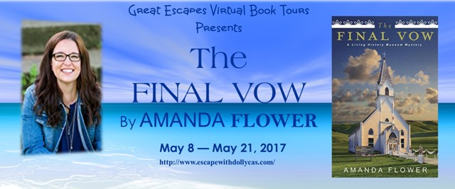 The Final Vow by Amanda Flower – Guest Post + Giveaway