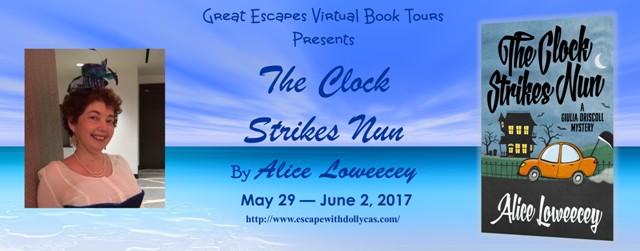 The Clock Strikes Nun tour banner
