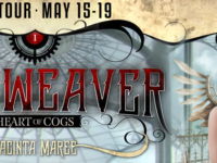 Time Weaver: Heart of Cogs by Jacinta Maree – Guest Post + Giveaway
