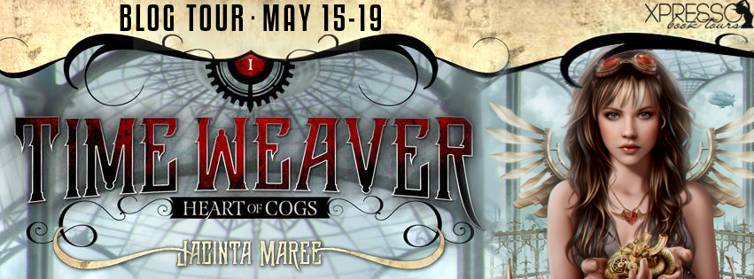 Time Weaver book tour banner
