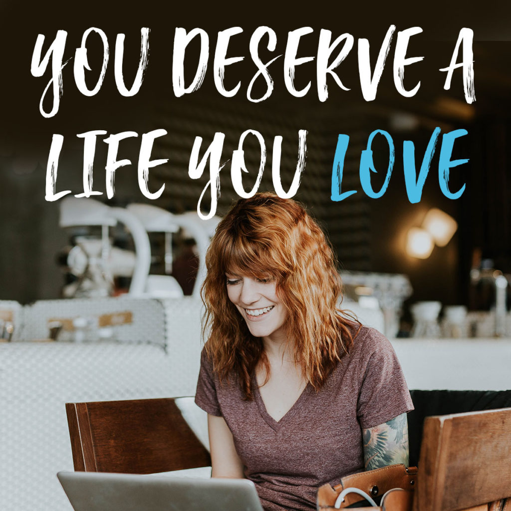 Want to work at home? you deserve a life you love