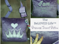 The BeLOVED Life Princess Travel Pillow Review + Giveaway