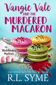 Vangie Vale and the Murdered Macaron book cover