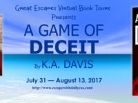 A Game of Deceit by K.A. Davis – Guest Post + Giveaway