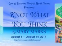Knot What You Think by Mary Marks – Spotlight + Giveaway