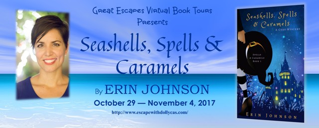 Seashells, Spells & Caramels by Erin Johnson - Review + 2 Giveaways
