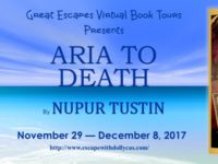 Aria to Death by Nupur Tustin – Excerpt and Giveaway