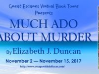 Much Ado About Murder by Elizabeth J. Duncan – Fast Five with Charlotte Fairfax