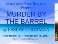 Murder by the Barrel by Lesley Cookman – Guest Post and Giveaway