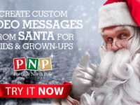 Portable North Pole – Personalized Santa Videos and More, plus a discount!