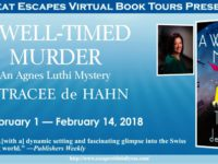 A Well-Timed Murder by Tracee de Hahn – Guest Post and Two Giveaways