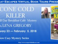 Scone Cold Killer by Lena Gregory – Meet Gia Morelli
