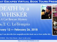 Death by a Whisker by T.C. LoTempio – You Can't Judge a Book by its Cover – or can you?