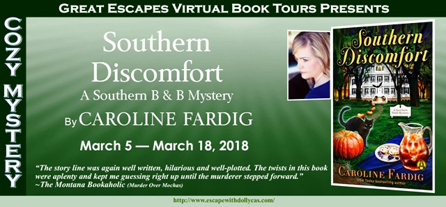 Southern Discomfort by Caroline Fardig - Review