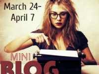 March Mini Blog Ahead