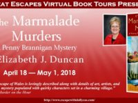 The Marmalade Murders by Elizabeth J. Duncan – The Art of the Cover + Giveaway
