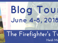 The Firefighter's Twins by Heidi McCahan – 7 Questions with Shay Campbell