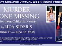Murder Gone Missing by Lida Sideris – Spotlight and Exclusive eBook Giveaway