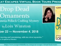 Drop Dead Ornaments by Lois Winston – Spotlight and Giveaway