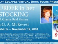Murder in Her Stocking by G.A. McKevett – Bein' a Grandma Ain't Bad Atall – Review and Giveaway