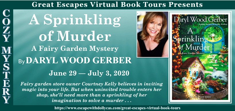 A Sprinkling of Murder by Daryl Wood Gerber - Review and Giveaway