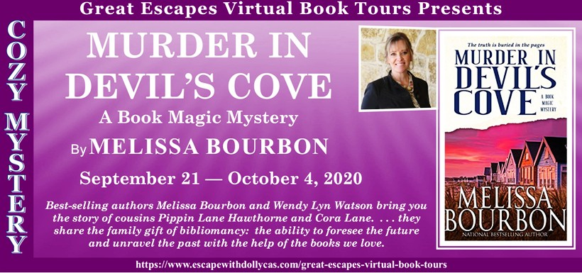 Murder in Devil's Cove by Melissa Bourbon