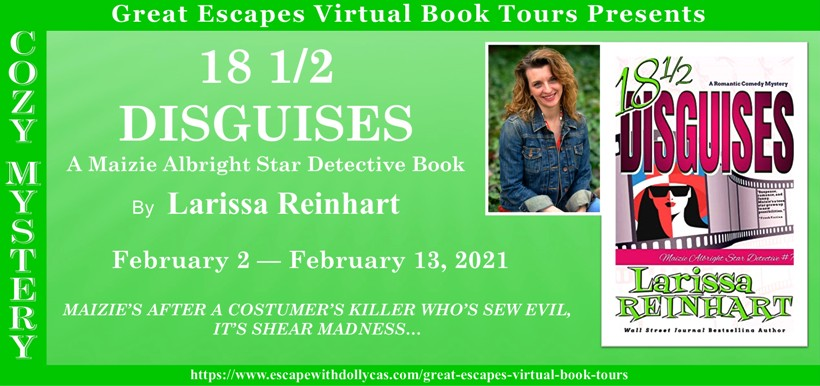18 1/2 Disguises by Larissa Reinhart - Slow-Cooked Roast Beef Debris Po' Boys + Giveaway