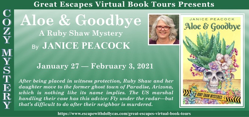 Aloe and Goodbye by Janice Peacock - Review & Giveaway