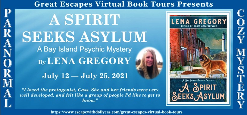 A Spirit Seeks Asylum by Lena Gregory - A Reading with Cass + Giveaway